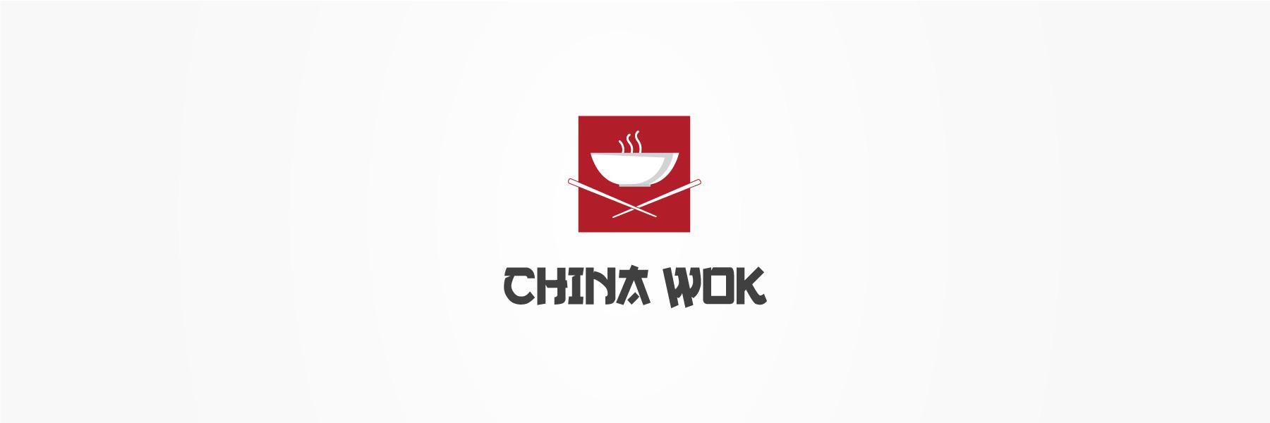 china-wok-logo-design