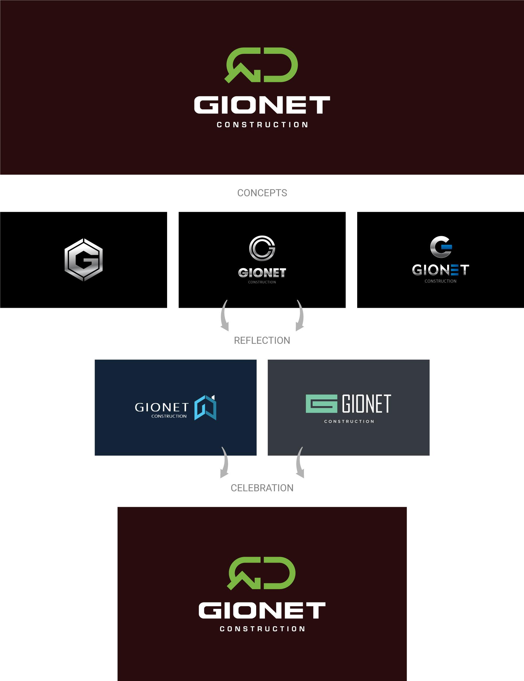 Gionet-construction-logo-design