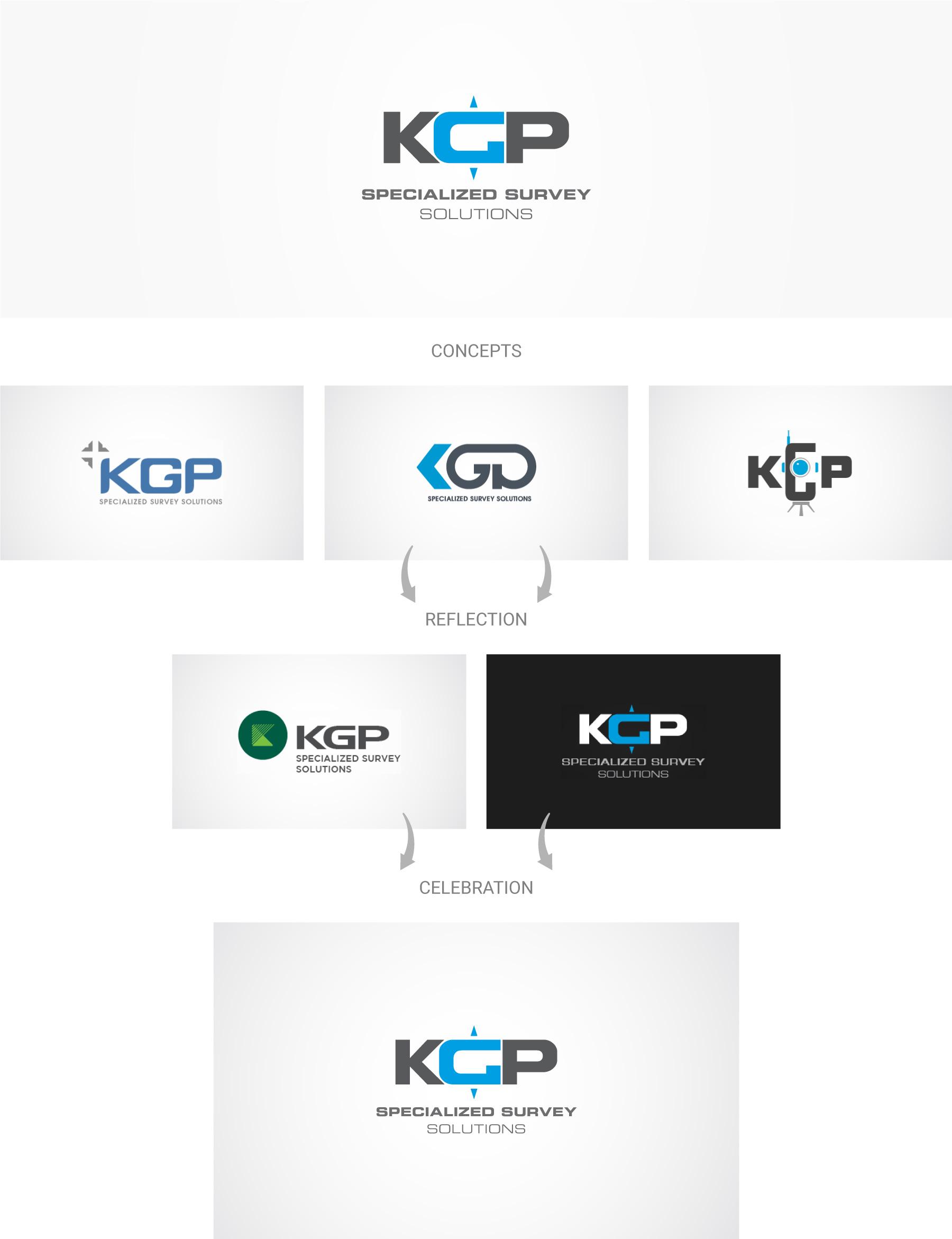 KGP-specialized-survey-solutions-logo-design