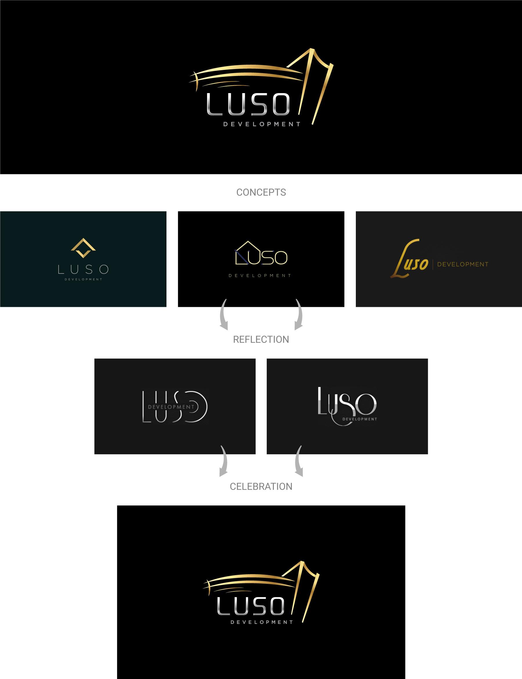 Luso-development-logo-design