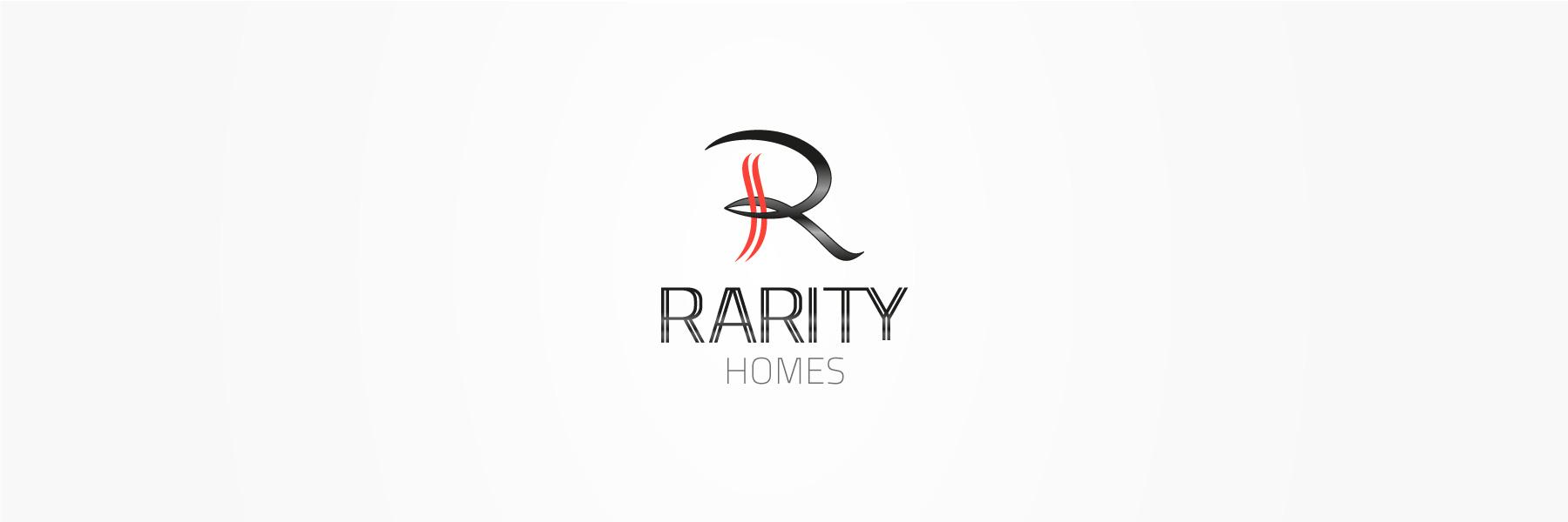 Rarity-Homes-Construction-Logo-Design
