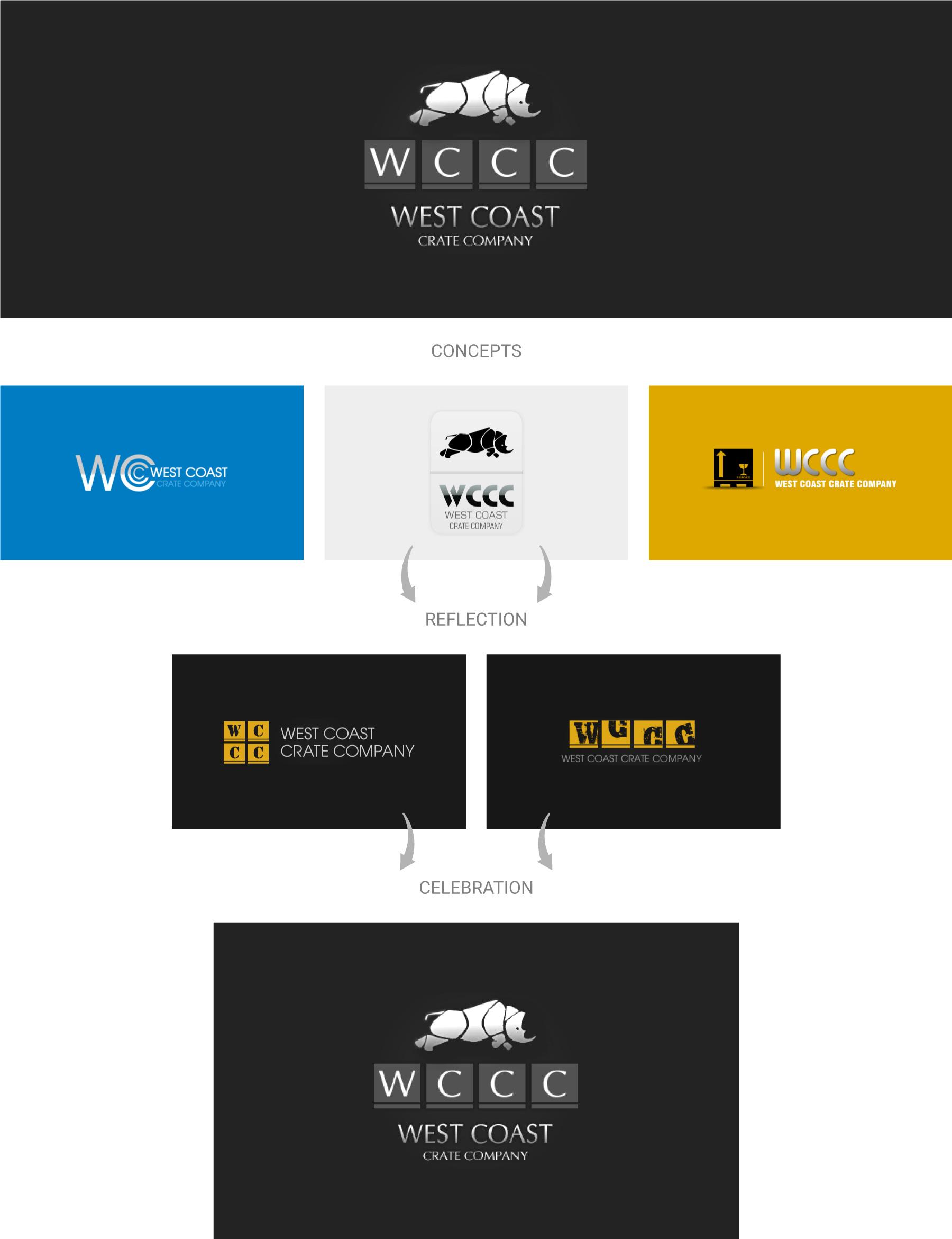 West-coast-crate-company-logo-design
