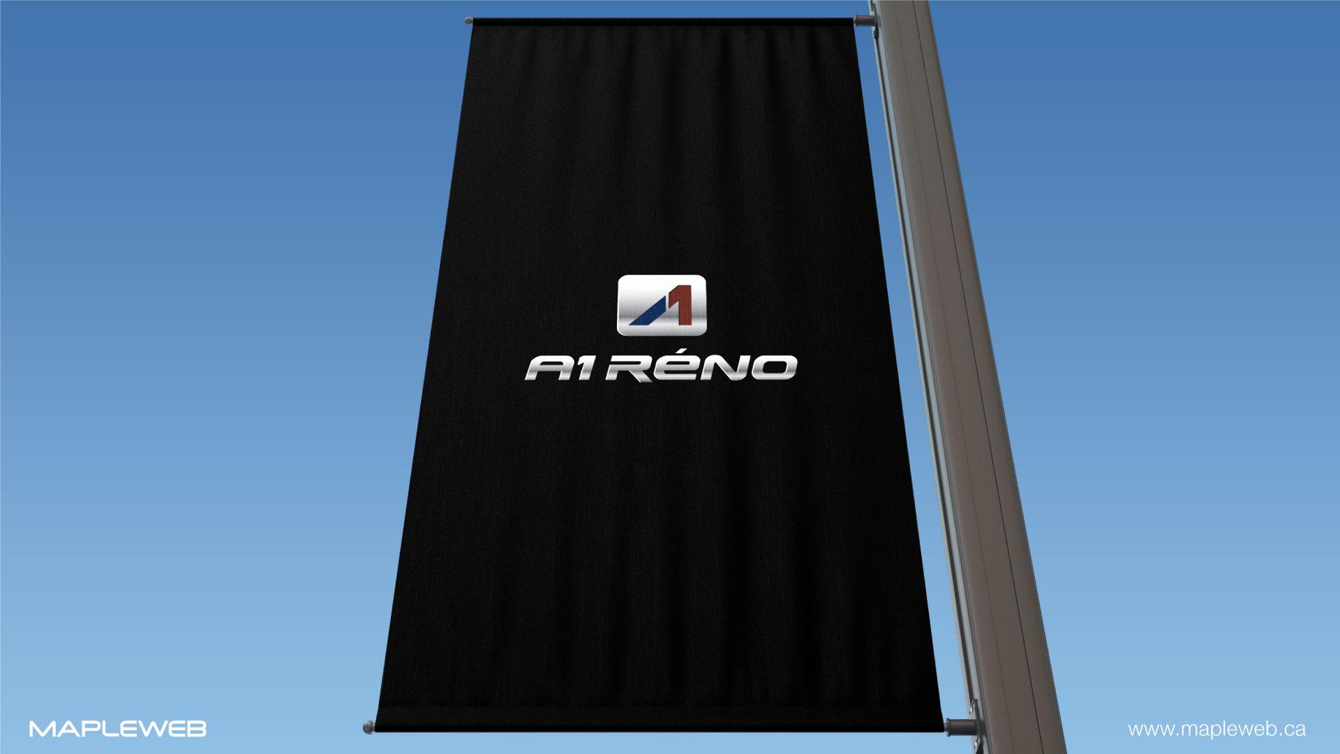a1-reno-brand-logo-design-by-mapleweb-vancouver-canada-logo-on-black-banner-mock