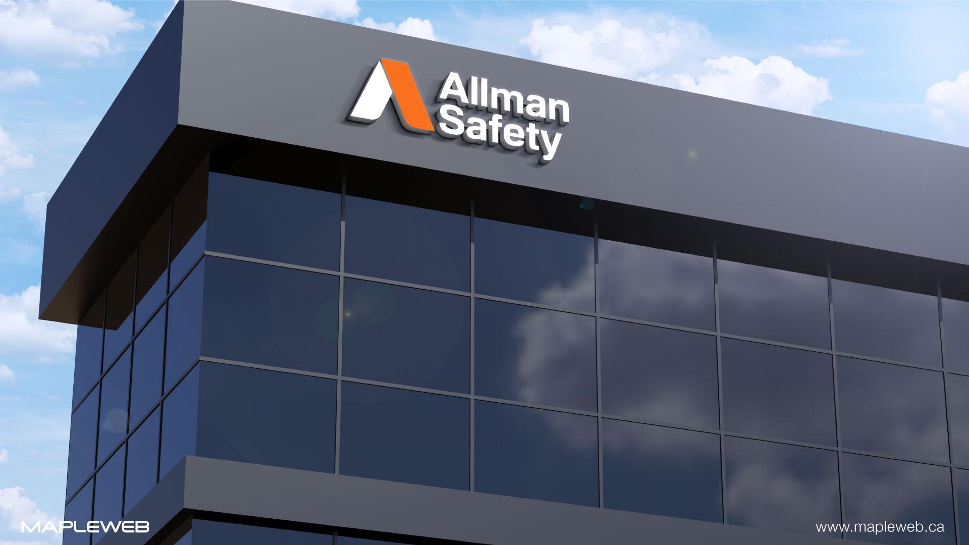 allman-safety-brand-logo-design-by-mapleweb-vancouver-canada-building-mock