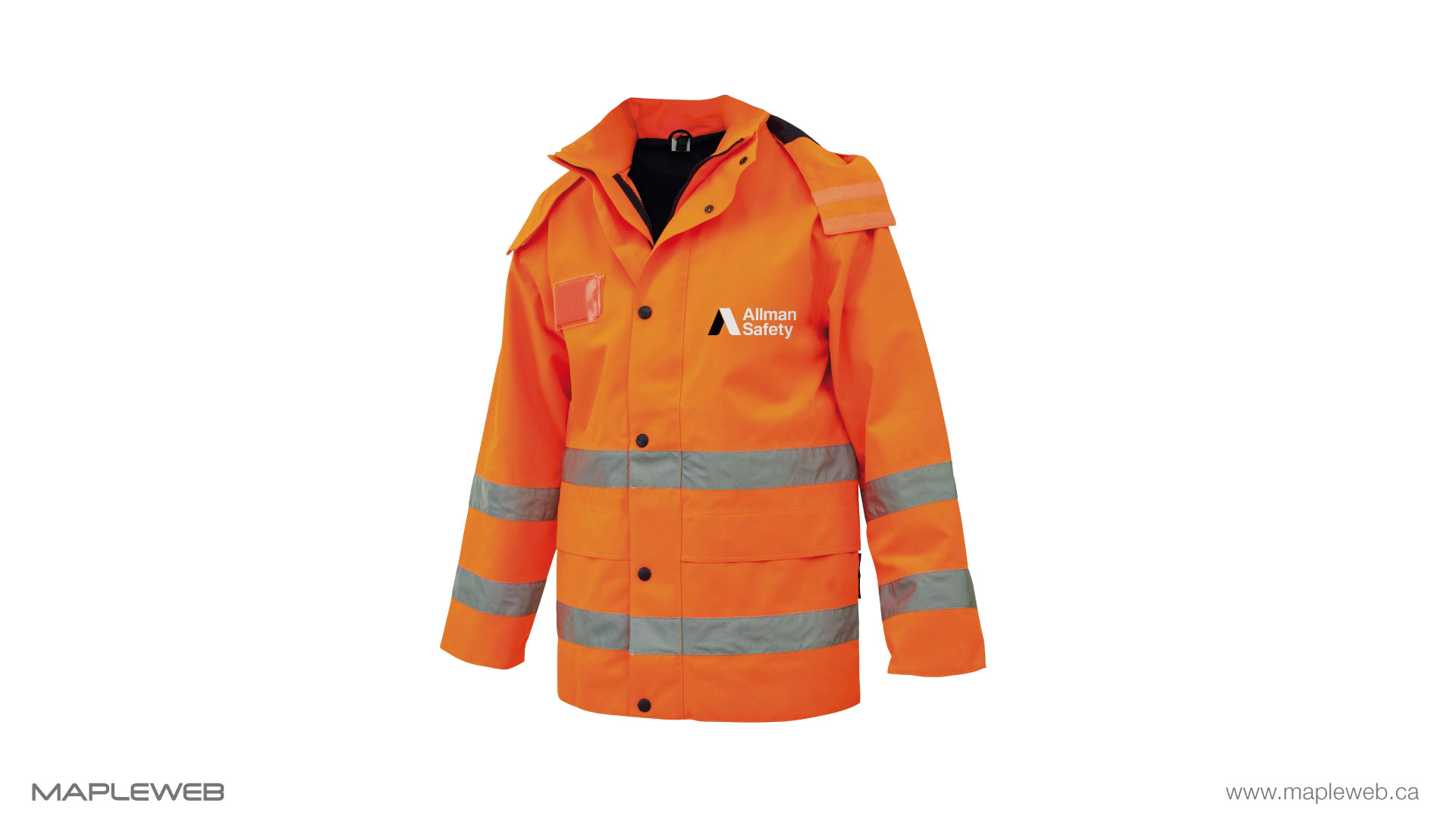 allman-safety-brand-logo-design-by-mapleweb-vancouver-canada-safety-jacket-mock