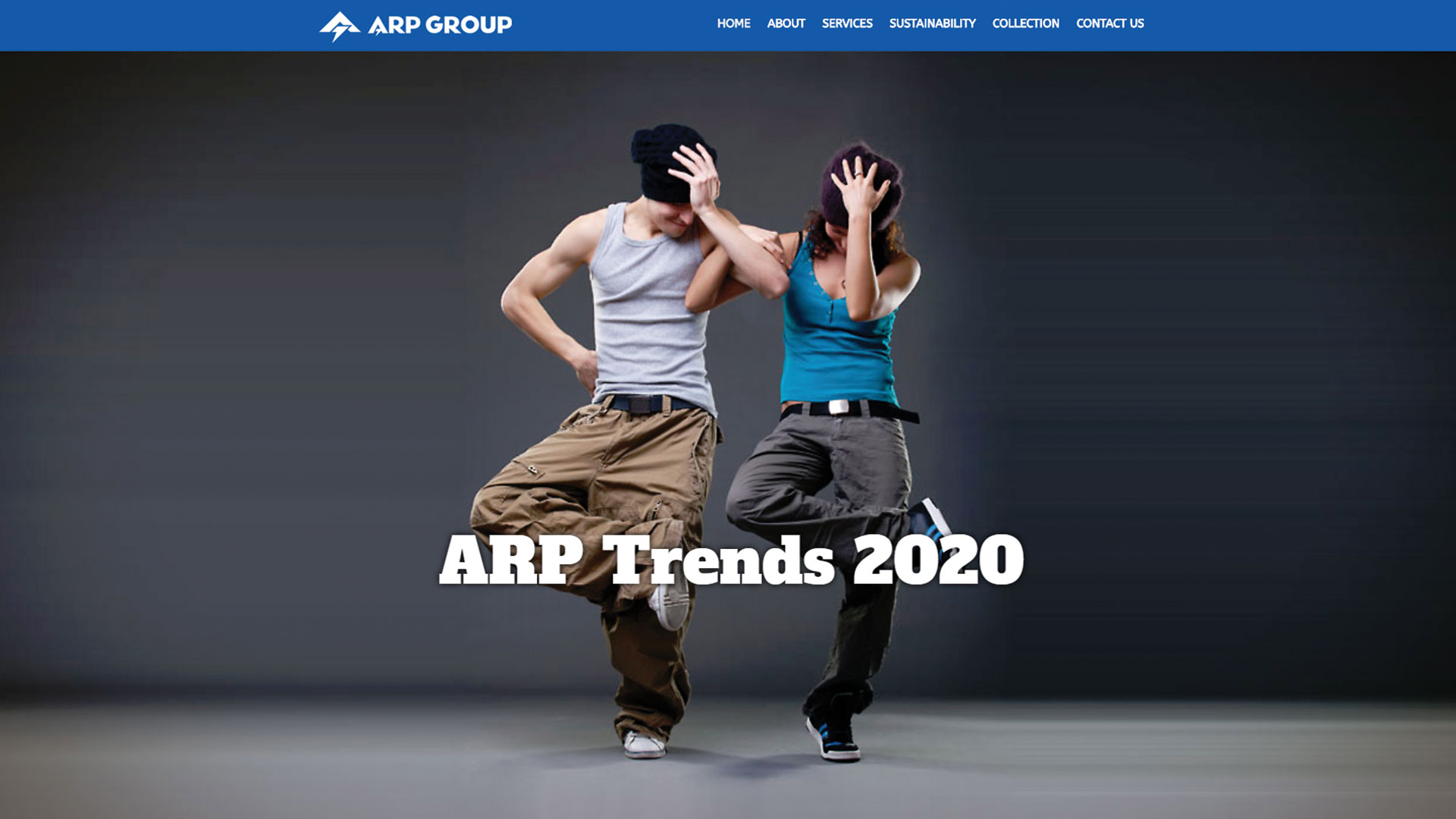 arp-group-Vancouver-web-design-Vancouver-web-development-by-mapleweb-canada-dancing-male-female-dressing-show-page-image