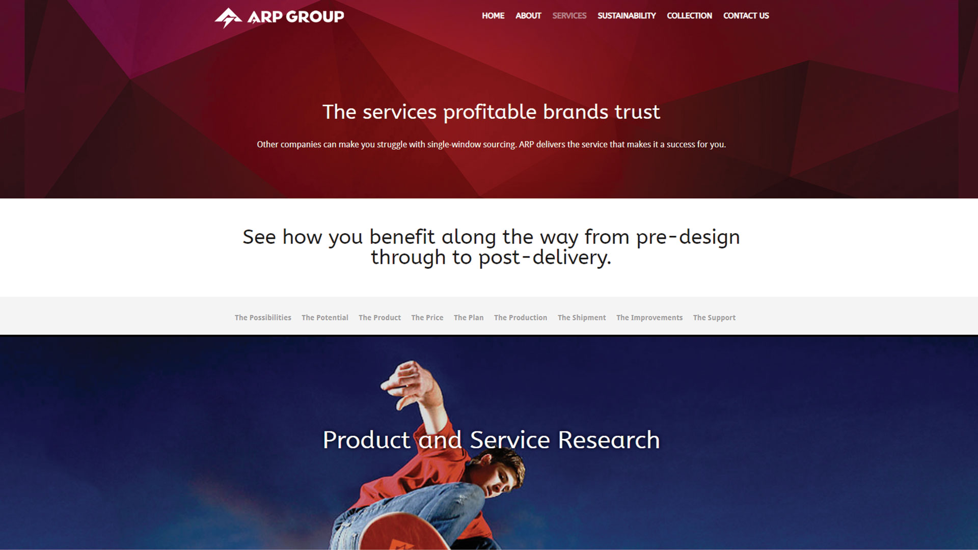 arp-group-Vancouver-web-design-Vancouver-web-development-by-mapleweb-canada-services-red-blue-page-image