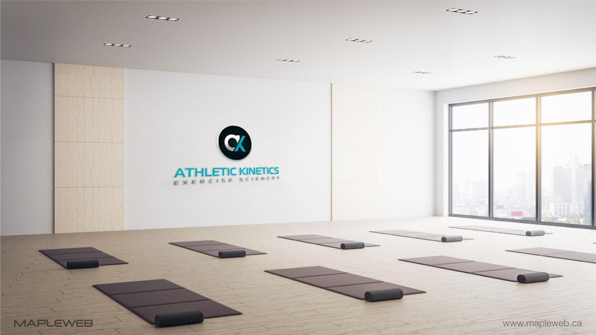 athletic-kinetics-brand-logo-design-by-mapleweb-vancouver-canada-wall-mock