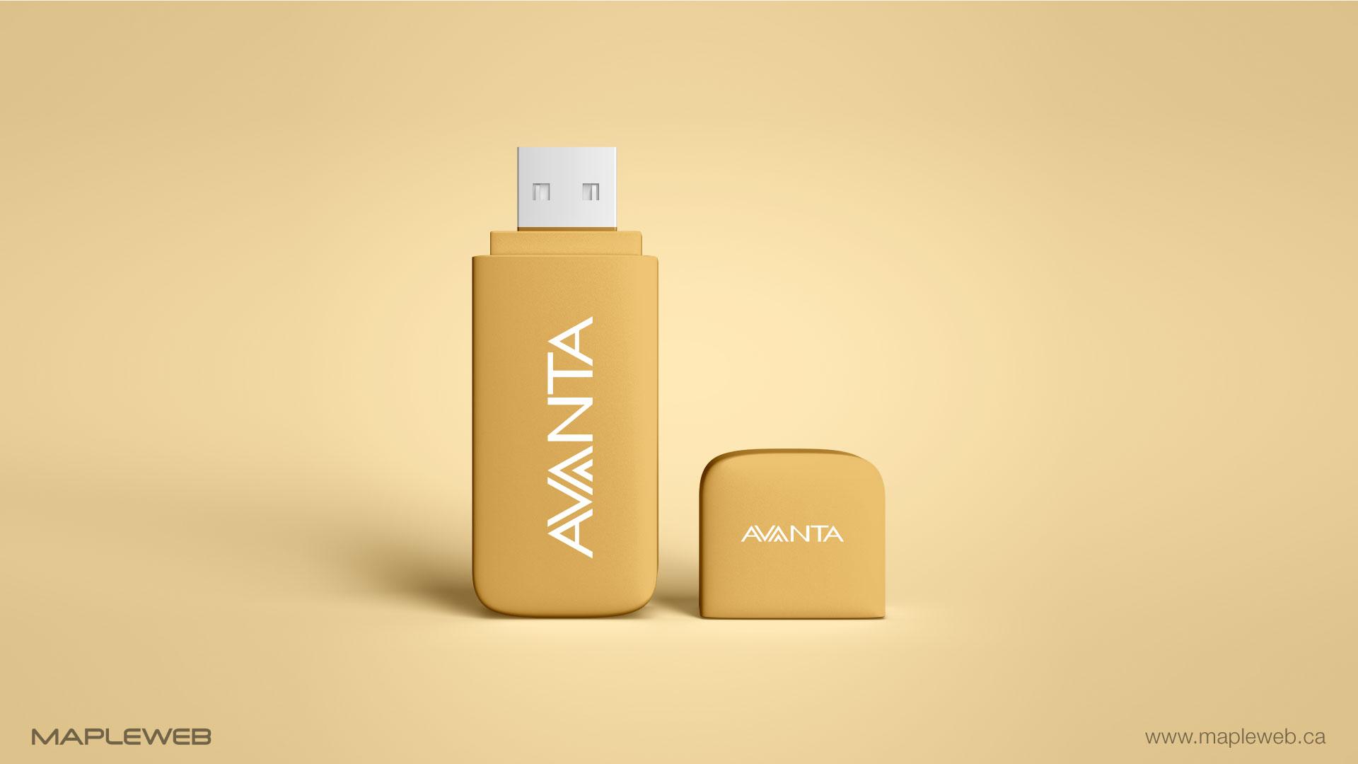avanta-brand-logo-design-by-mapleweb-vancouver-canada-usb-mock