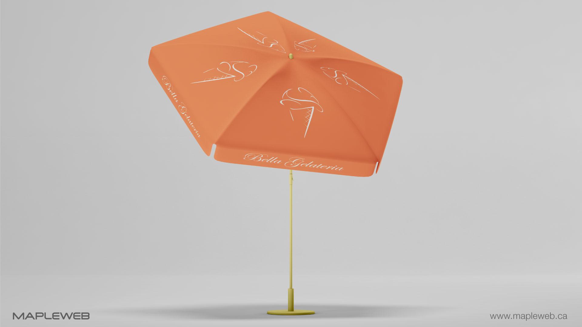 bella-gelateria-brand-logo-design-by-mapleweb-vancouver-canada-umbrella-tent-mock