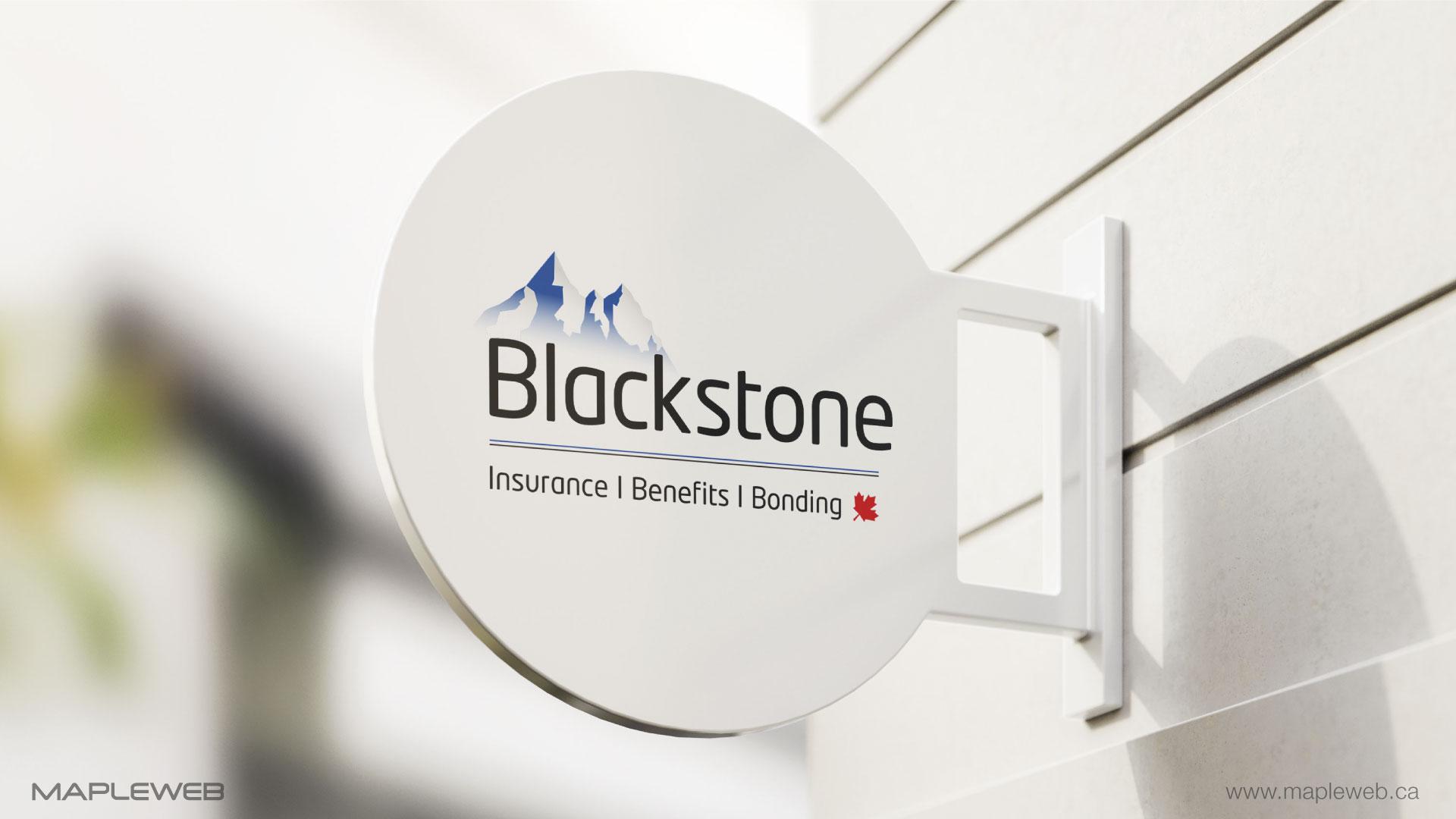 blackstone-brand-logo-design-by-mapleweb-vancouver-canada-outside-signage-mock