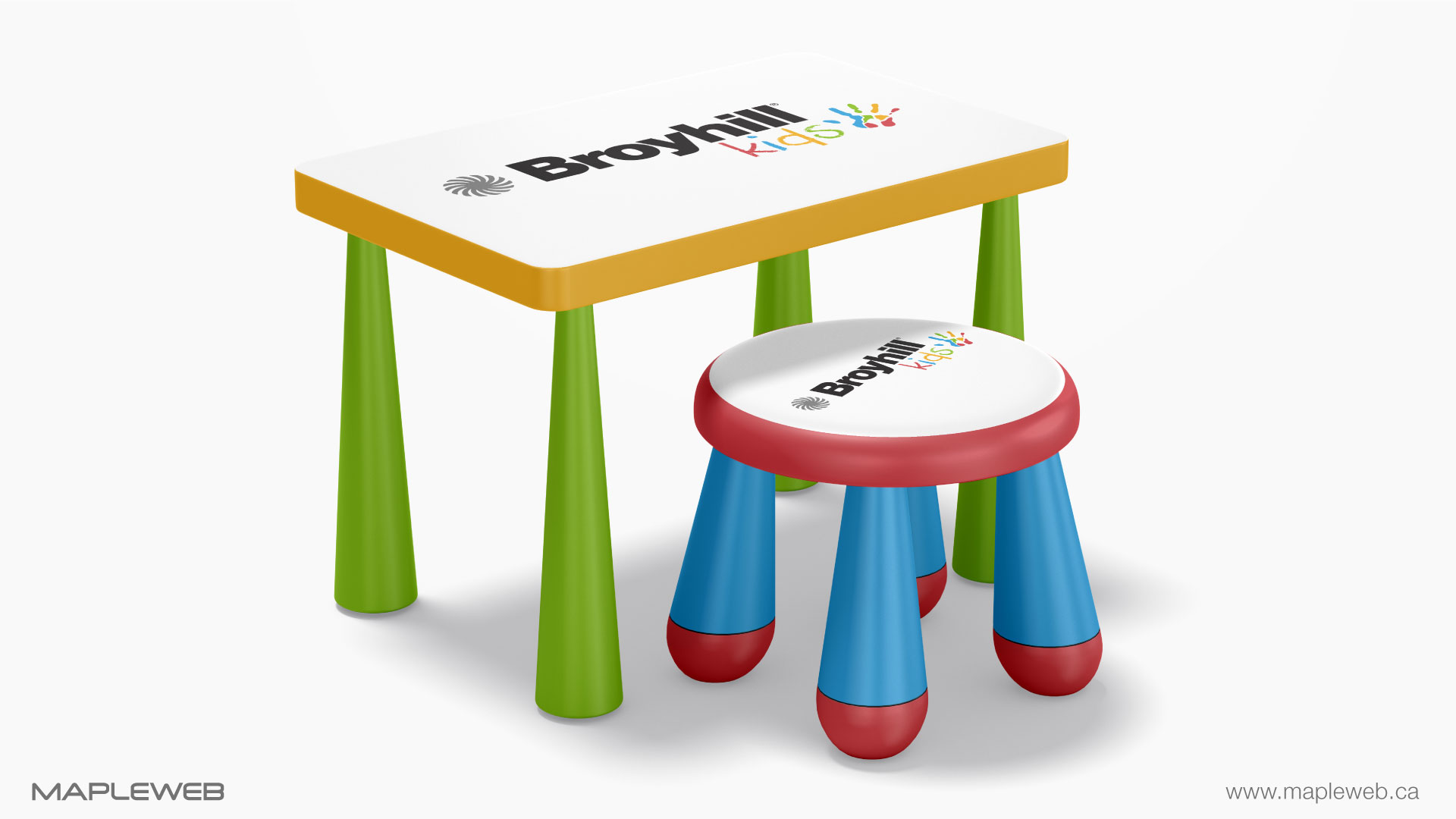 broyhill-kids-brand-logo-design-by-mapleweb-vancouver-canada-kids-sitting-chair-and-table-mock
