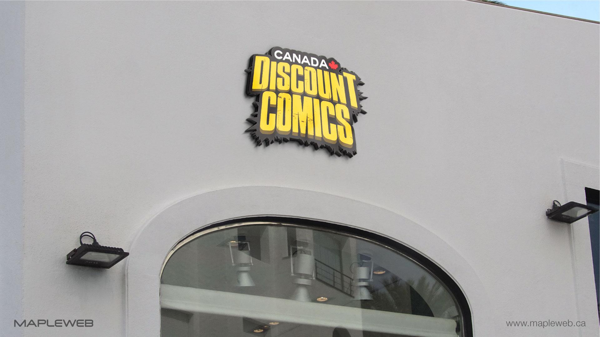 canada-discount-comic-mock-logo-design-by-mapleweb-vancouver-canada