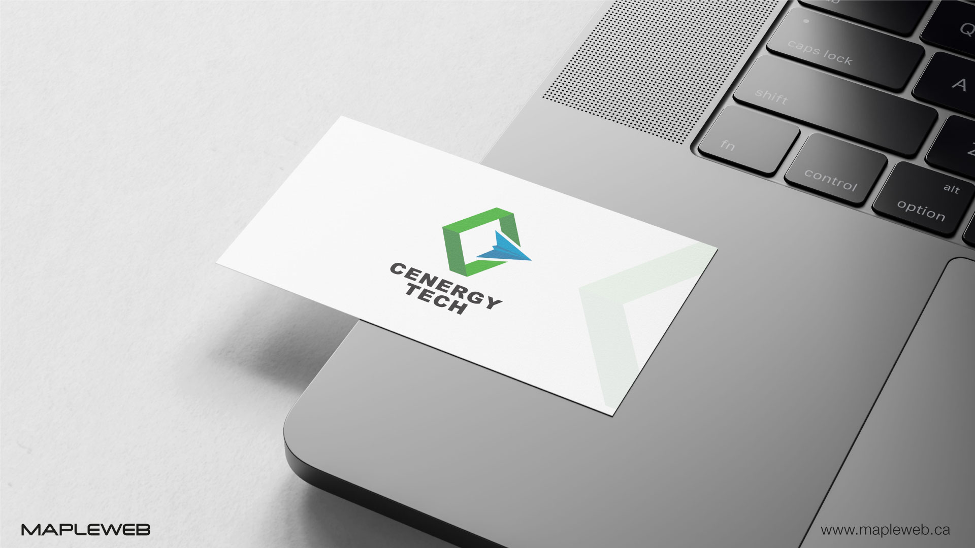 cenergy-tech-brand-logo-design-by-mapleweb-vancouver-canada-white-business-card-mock