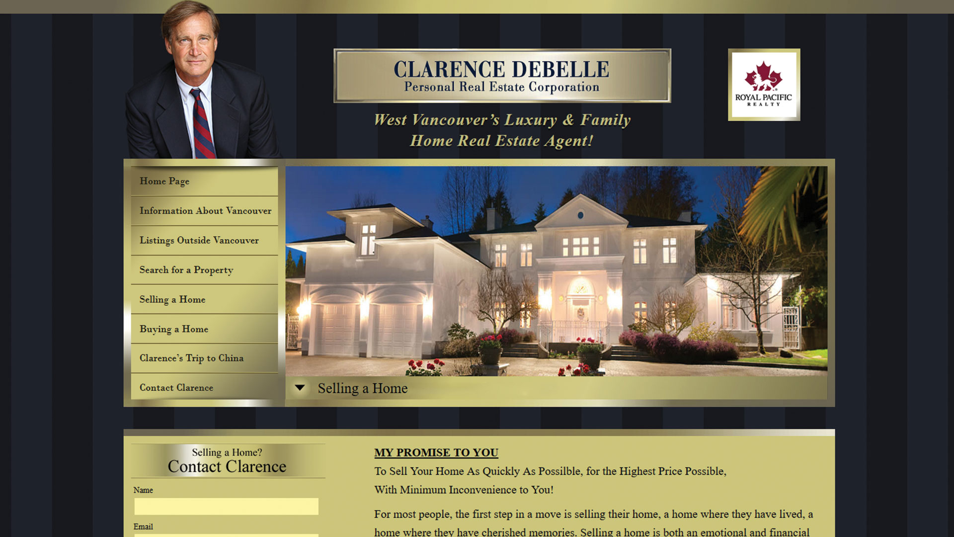 clarence-debelle-Vancouver-web-design-Vancouver-web-development-by-mapleweb-canada-homepage