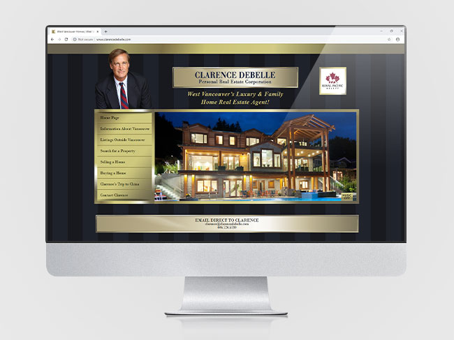 clarence-debelle-Vancouver-web-design-Vancouver-web-development-by-mapleweb-canada-web-homepage-display-thumbnail