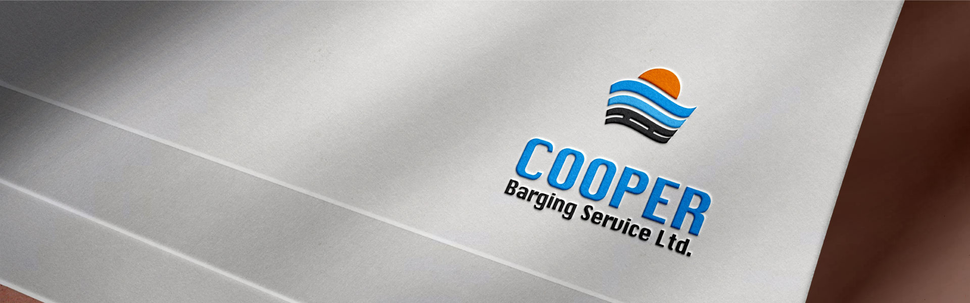 cooper-barging-service-brand-logo-design-by-mapleweb-vancouver-canada-paper-mock