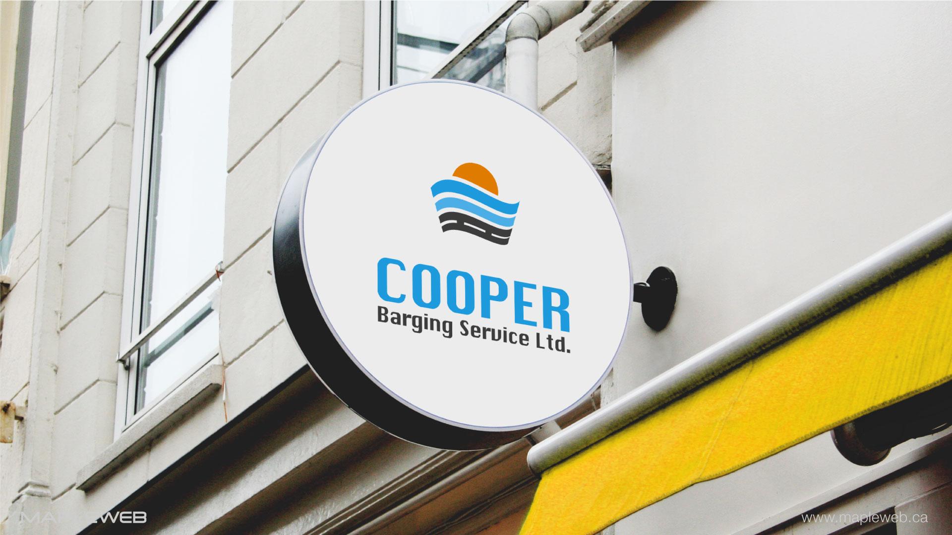 . cooper-barging-service-brand-logo-design-by-mapleweb-vancouver-canada-shop-outside-signage-mock