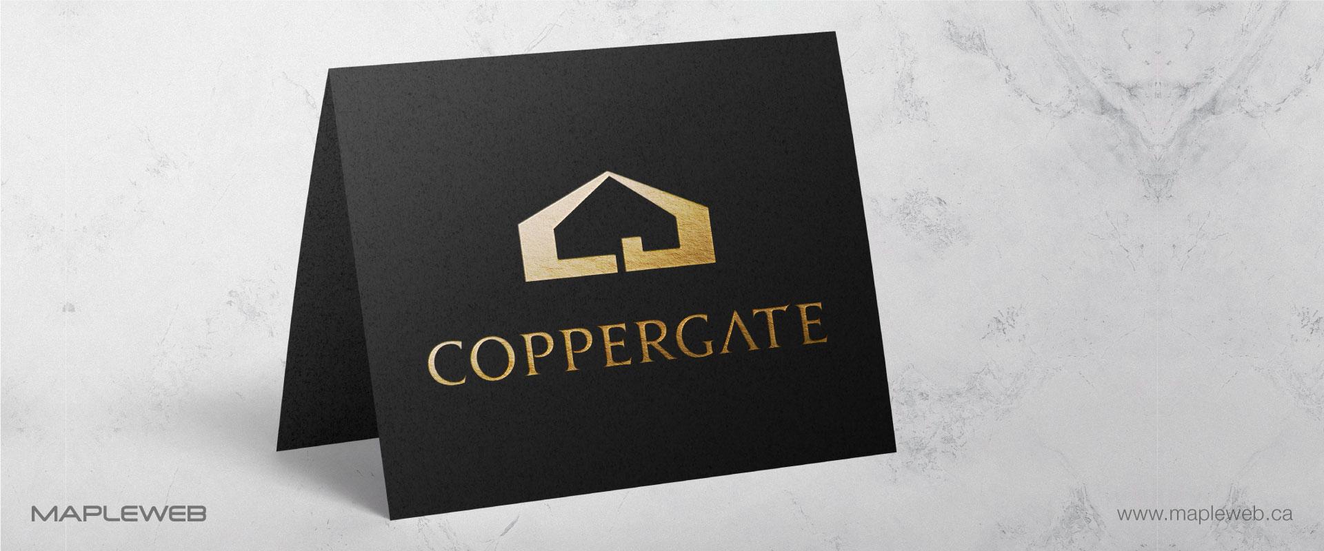 coppergate-brand-logo-design-by-mapleweb-vancouver-canada-black-folded-paper-mock
