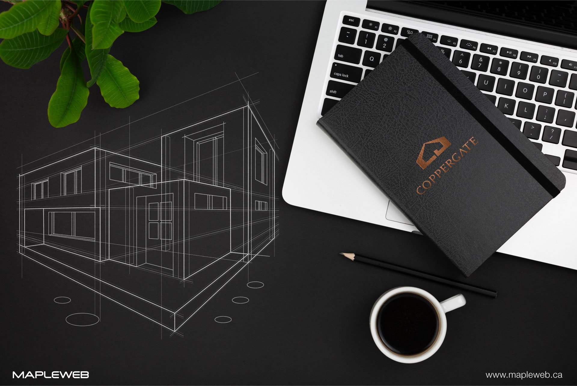 coppergate-brand-logo-design-by-mapleweb-vancouver-canada-notebook-mock