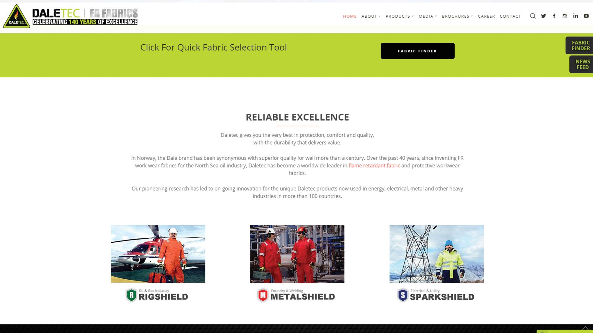 daletec-Vancouver-web-design-Vancouver-web-development-by-mapleweb-canada-homepage