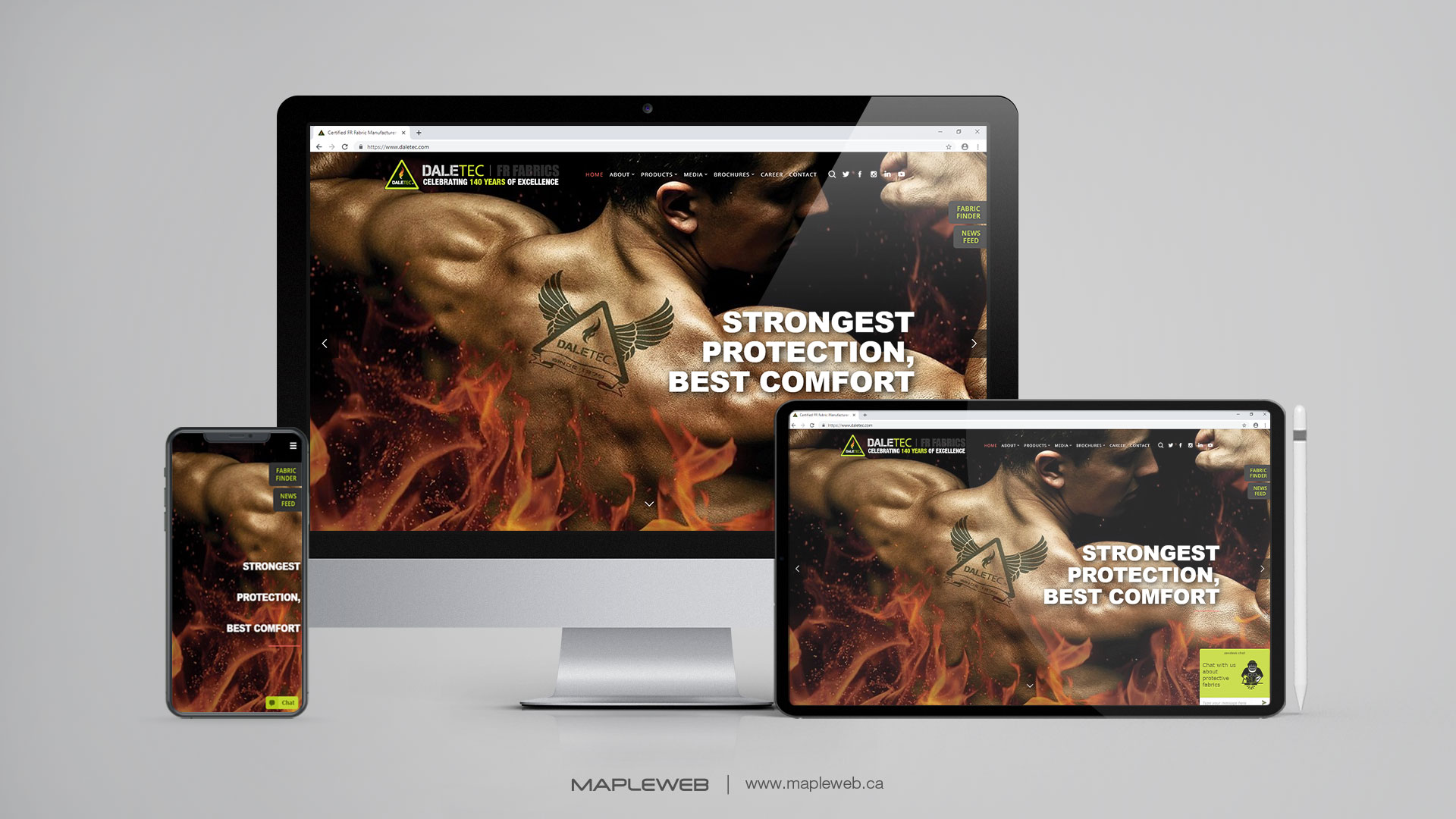 daletec-Vancouver-web-design-Vancouver-web-development-by-mapleweb-canada-multiple-devices-display