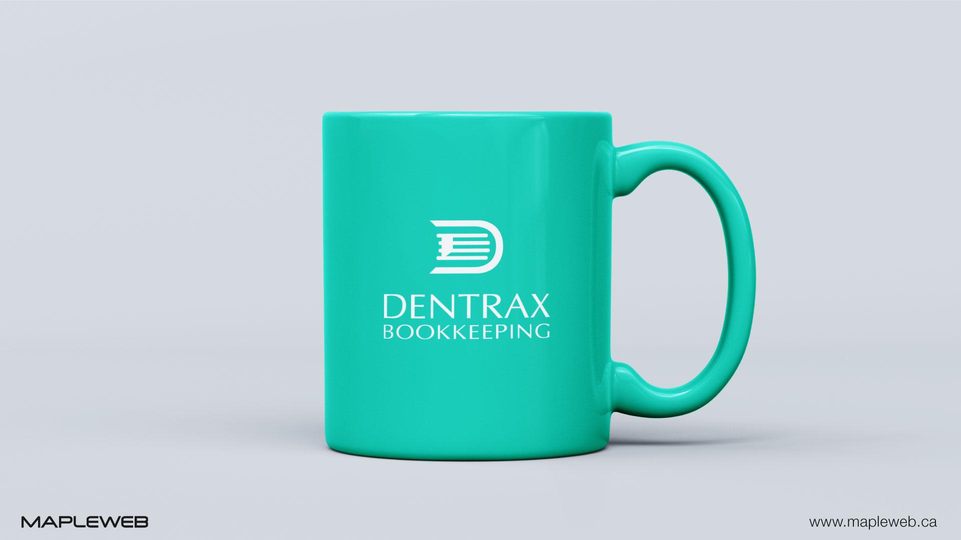 dentraxbookkeeping-brand-logo-design-by-mapleweb-vancouver-canada-mug-mock