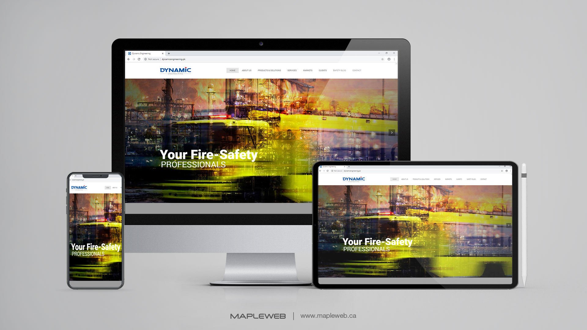 dynamic-Vancouver-web-design-Vancouver-web-development-by-mapleweb-canada-multiple-devices-display