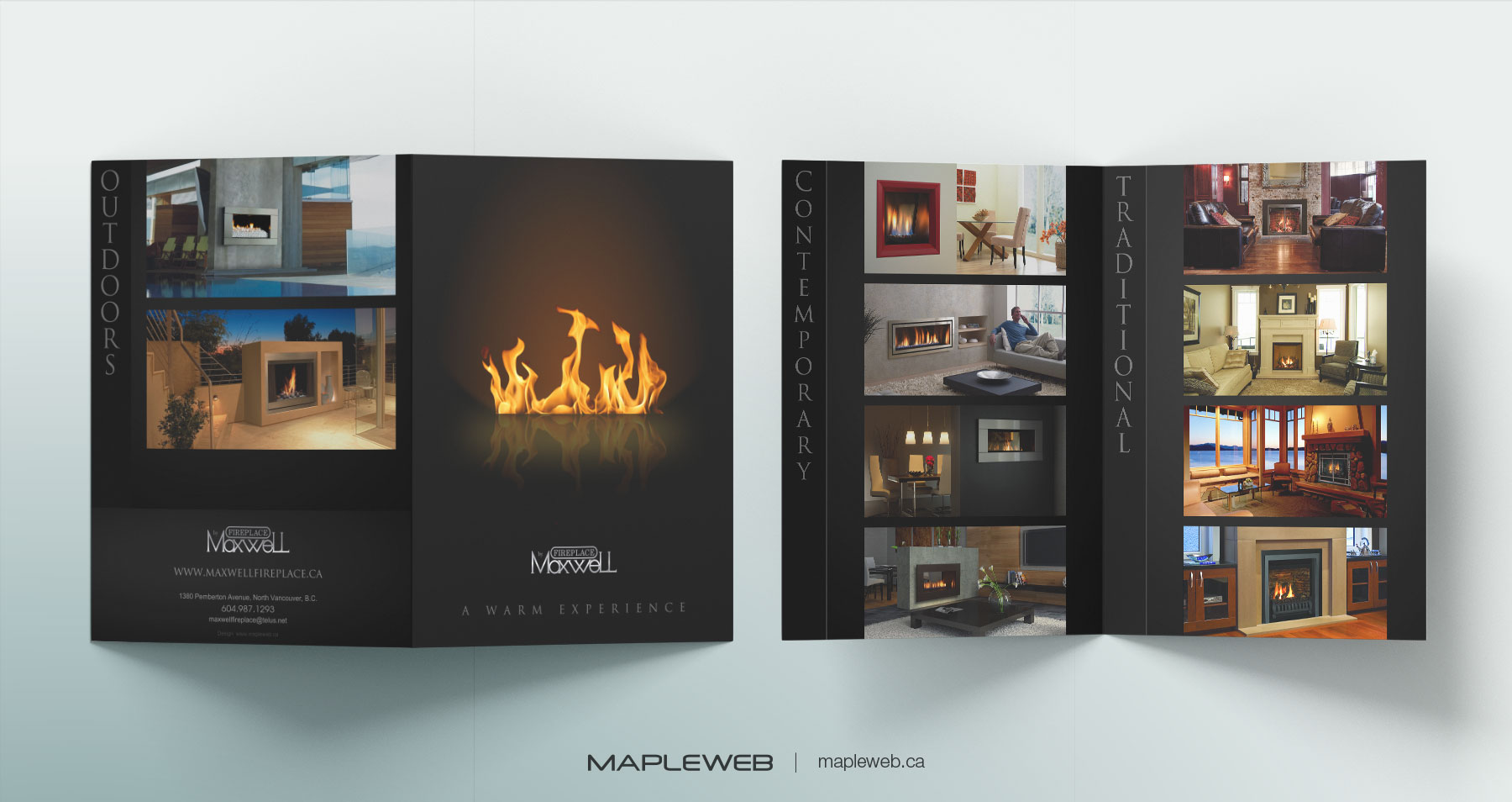 Fireplace by Maxwell