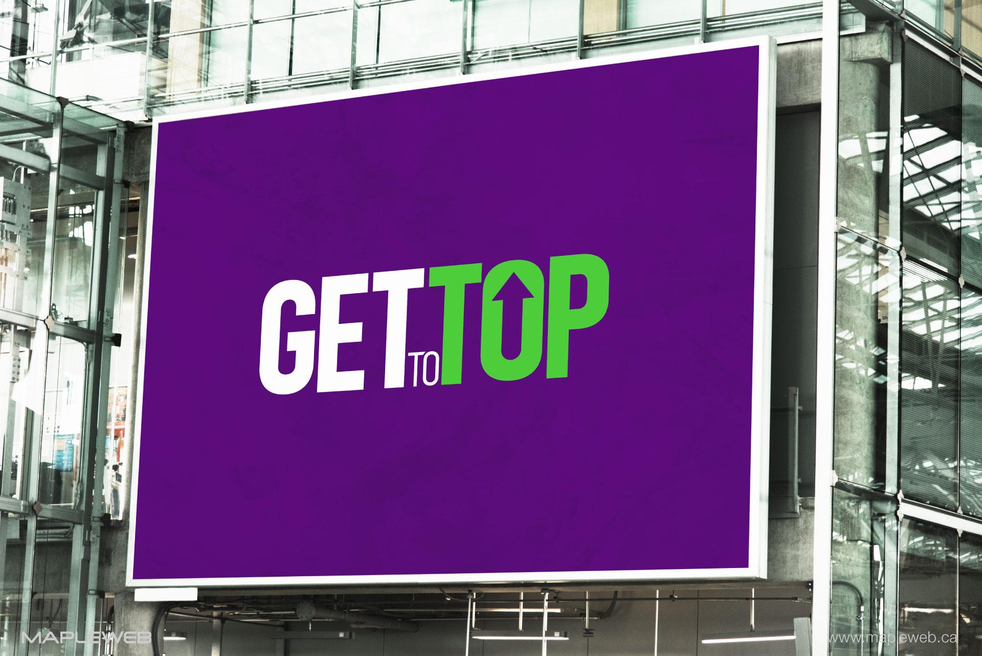 gettotop-brand-logo-design-by-mapleweb-vancouver-canada-billboard-mock