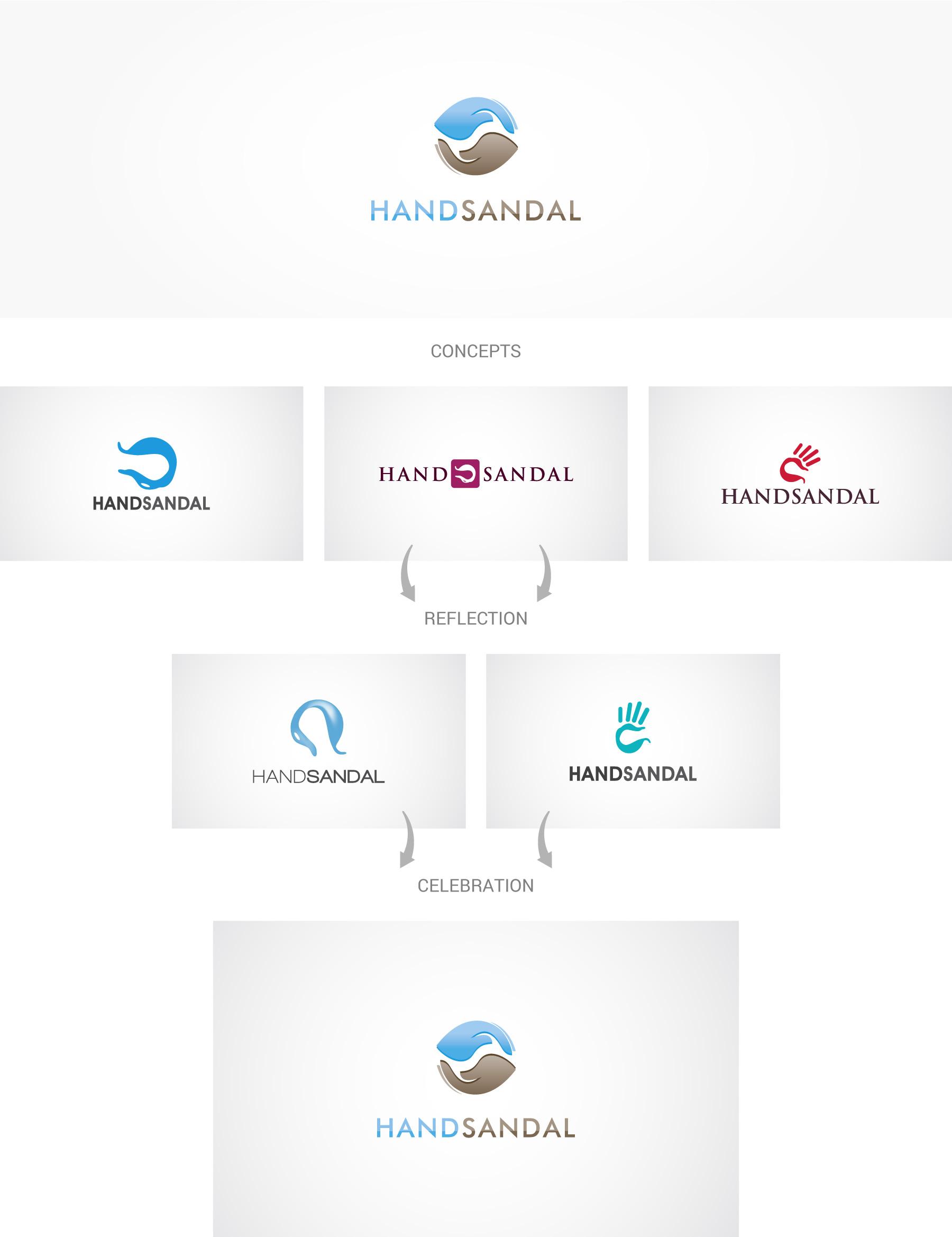 Hand-sandal-logo-design