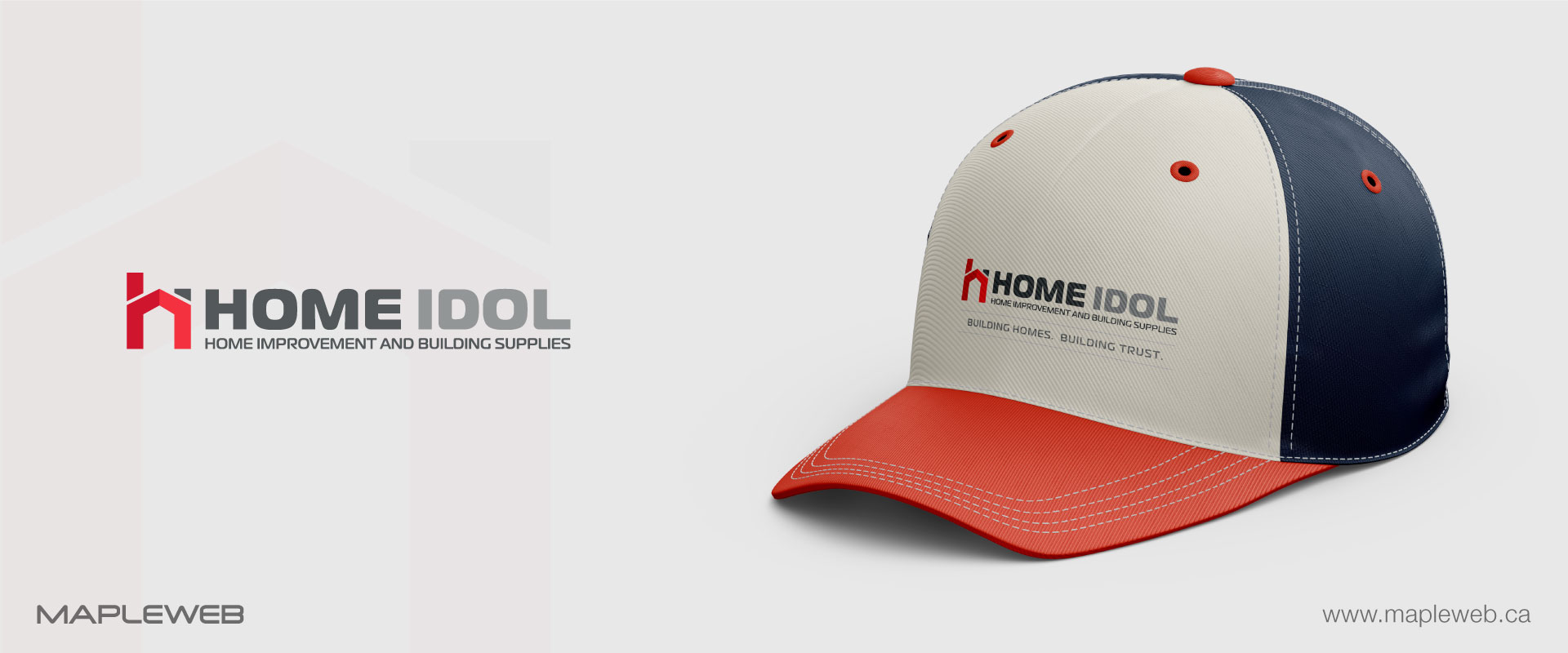home-idol-brand-logo-design-by-mapleweb-vancouver-canada-cap-mock