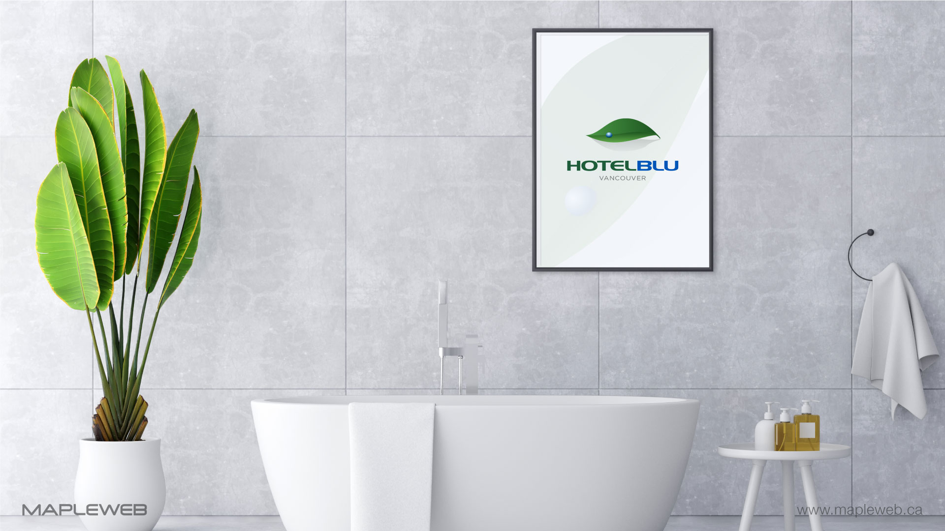 hotel-blu-brand-logo-design-by-mapleweb-vancouver-canada-bath-frame-mock