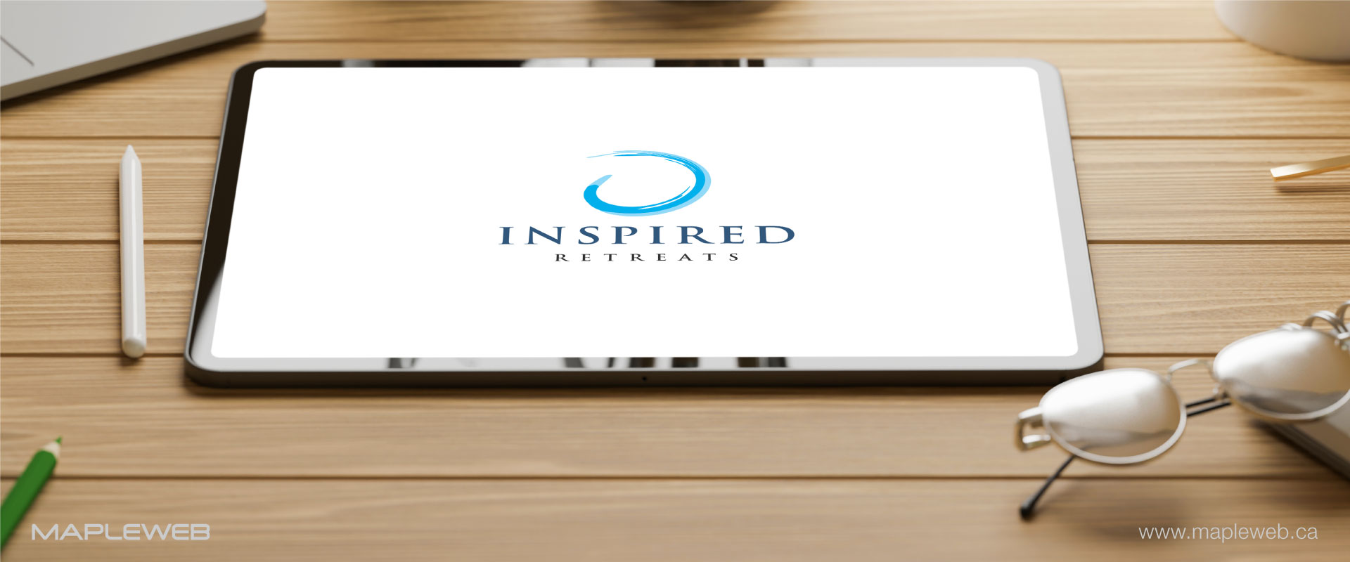 inspired-retreats-brand-logo-design-by-mapleweb-vancouver-canada-tablet-mock