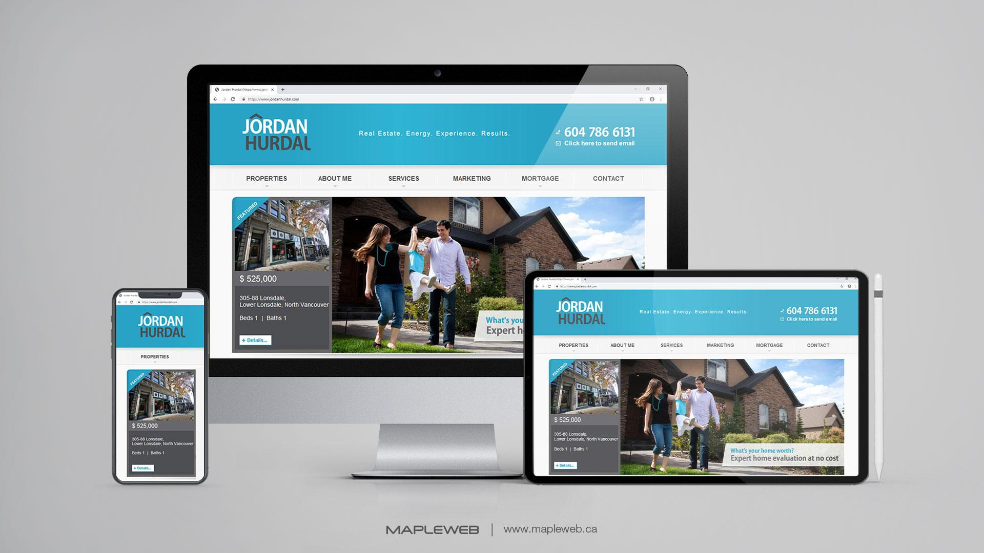 jordan-hurdal-Vancouver-web-design-Vancouver-web-development-by-mapleweb-canada-multiple-devices-display