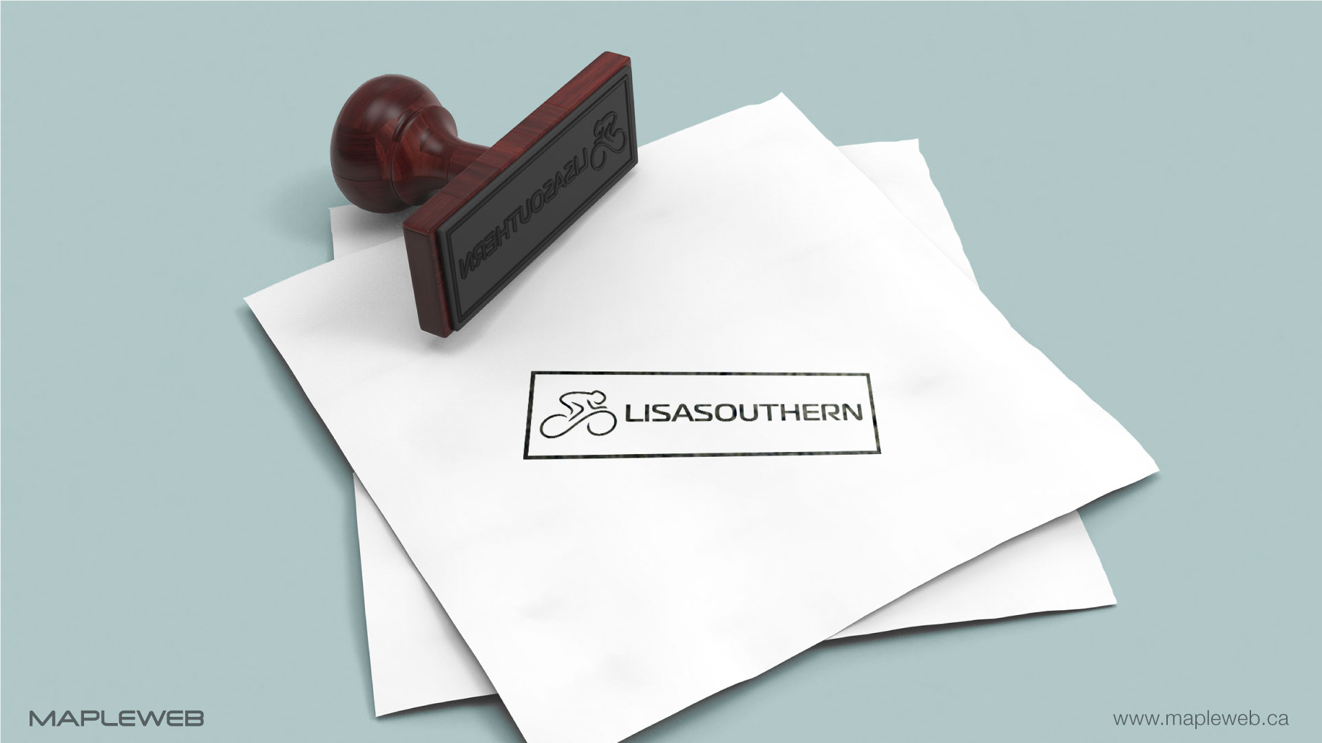 lisa-southern-brand-logo-design-by-mapleweb-vancouver-canada-stamp-mock