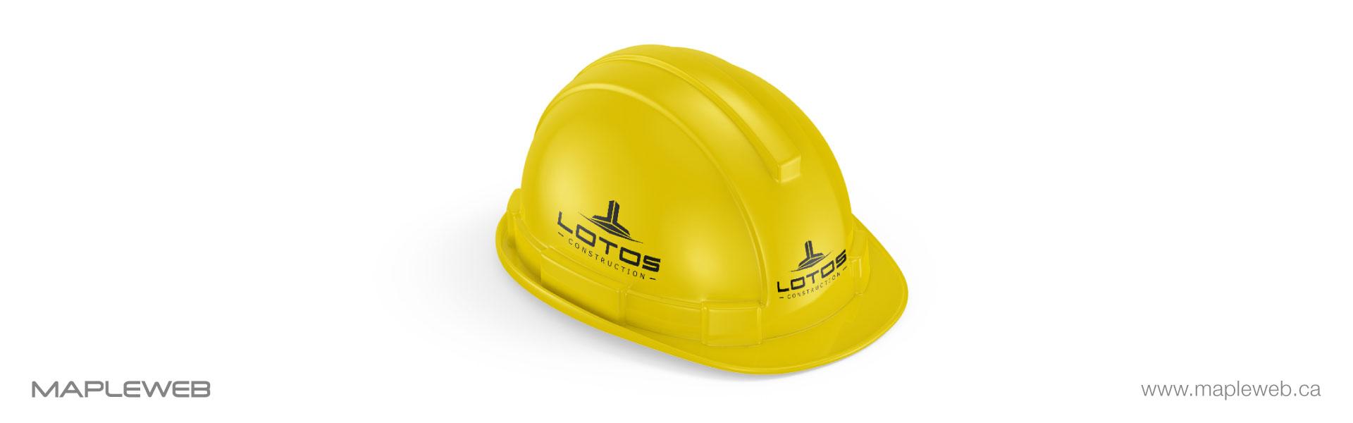 lotos-construction-brand-logo-design-by-mapleweb-vancouver-canada-yellow-measurement-tools-mock
