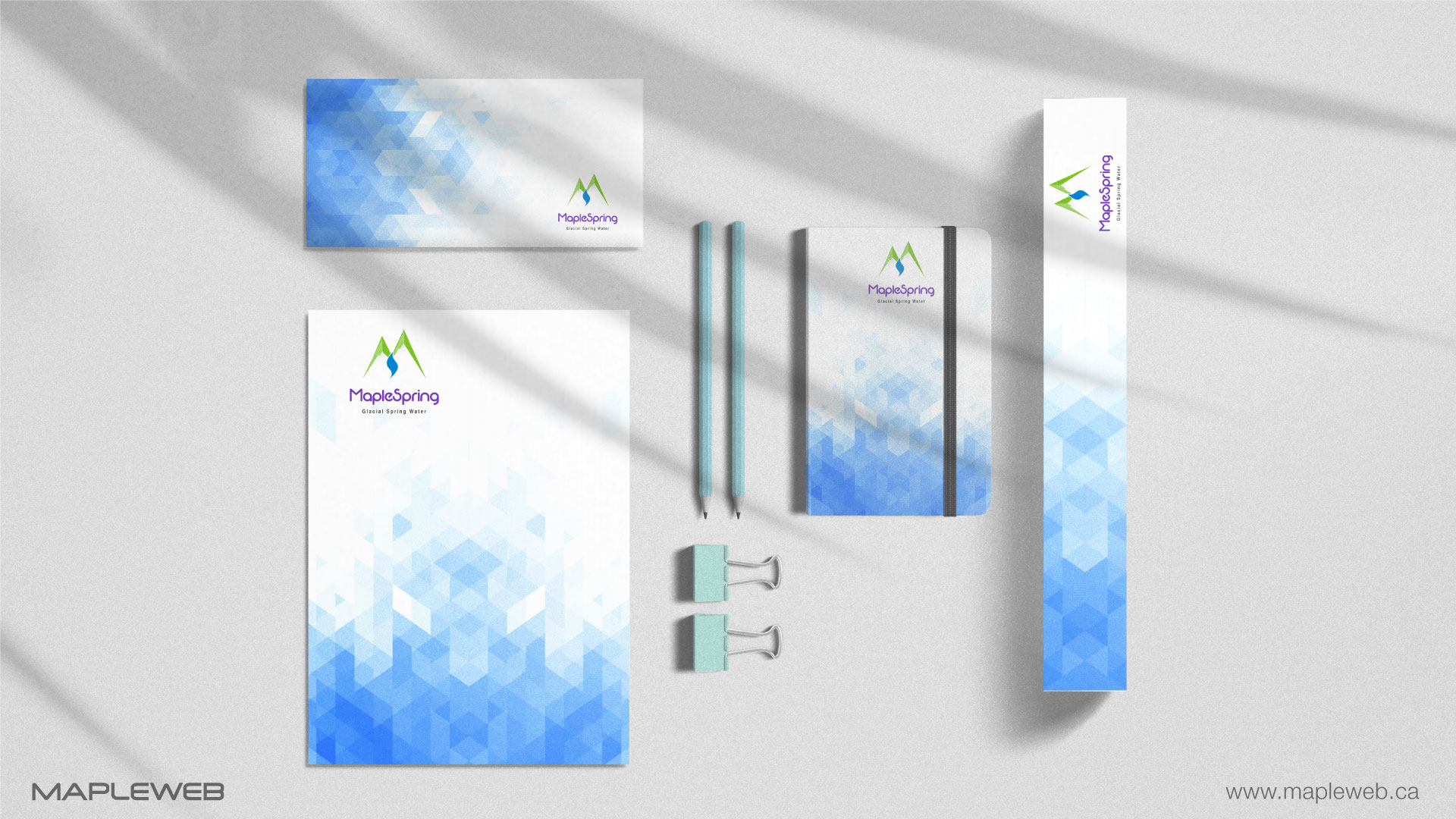 maplespring-brand-logo-design-by-mapleweb-vancouver-canada-stationery-mock