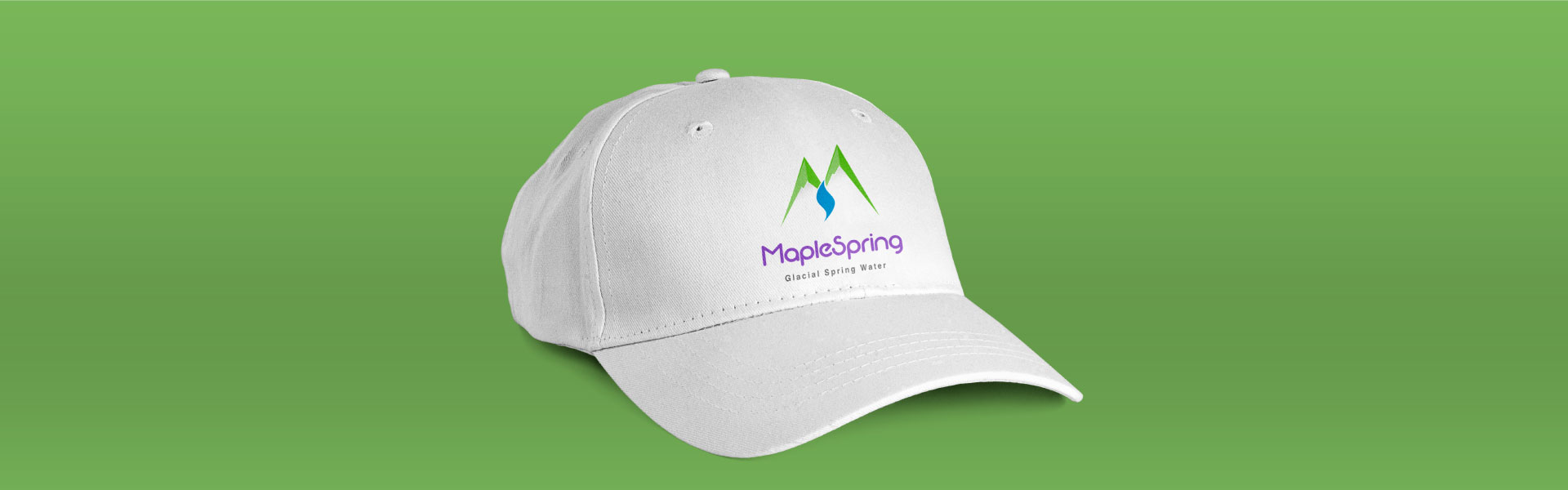 maplespring-brand-logo-design-by-mapleweb-vancouver-canada-white-cap-mock