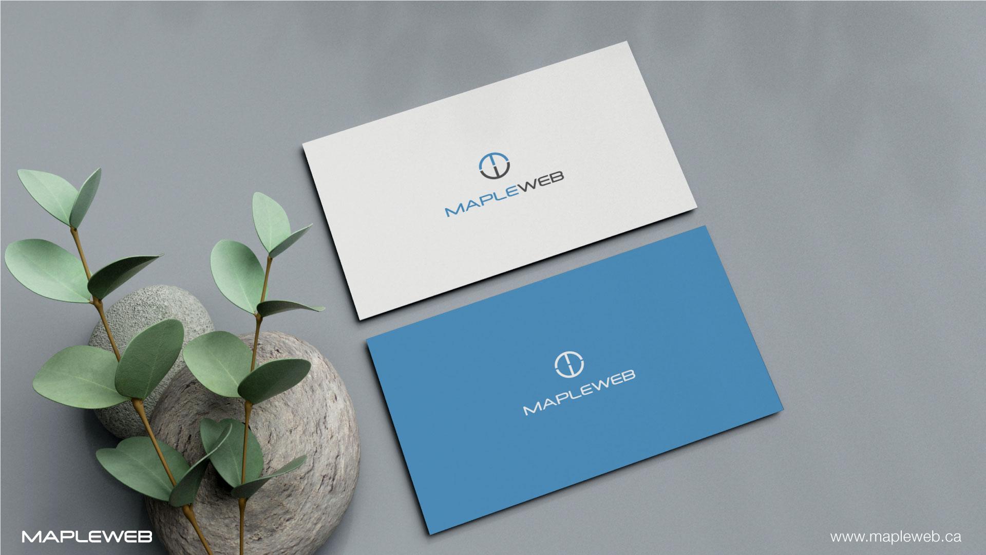 mapleweb-brand-logo-design-by-mapleweb-vancouver-canada-business-card-mock