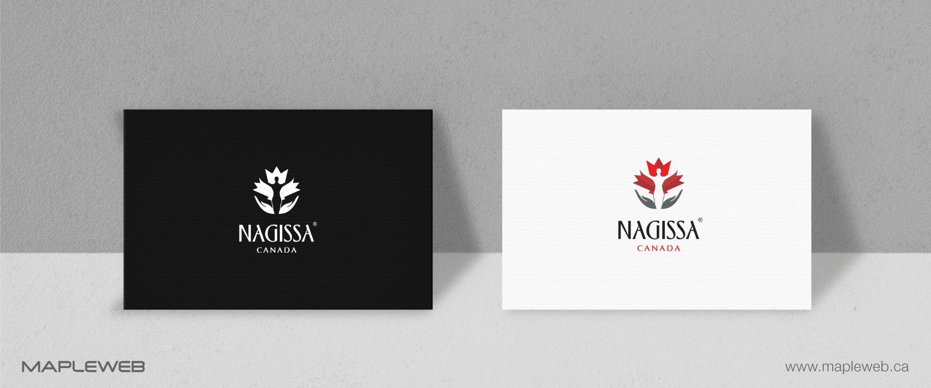 nagissa-canada-brand-logo-design-by-mapleweb-vancouver-canada-logo-on-business-card-mock