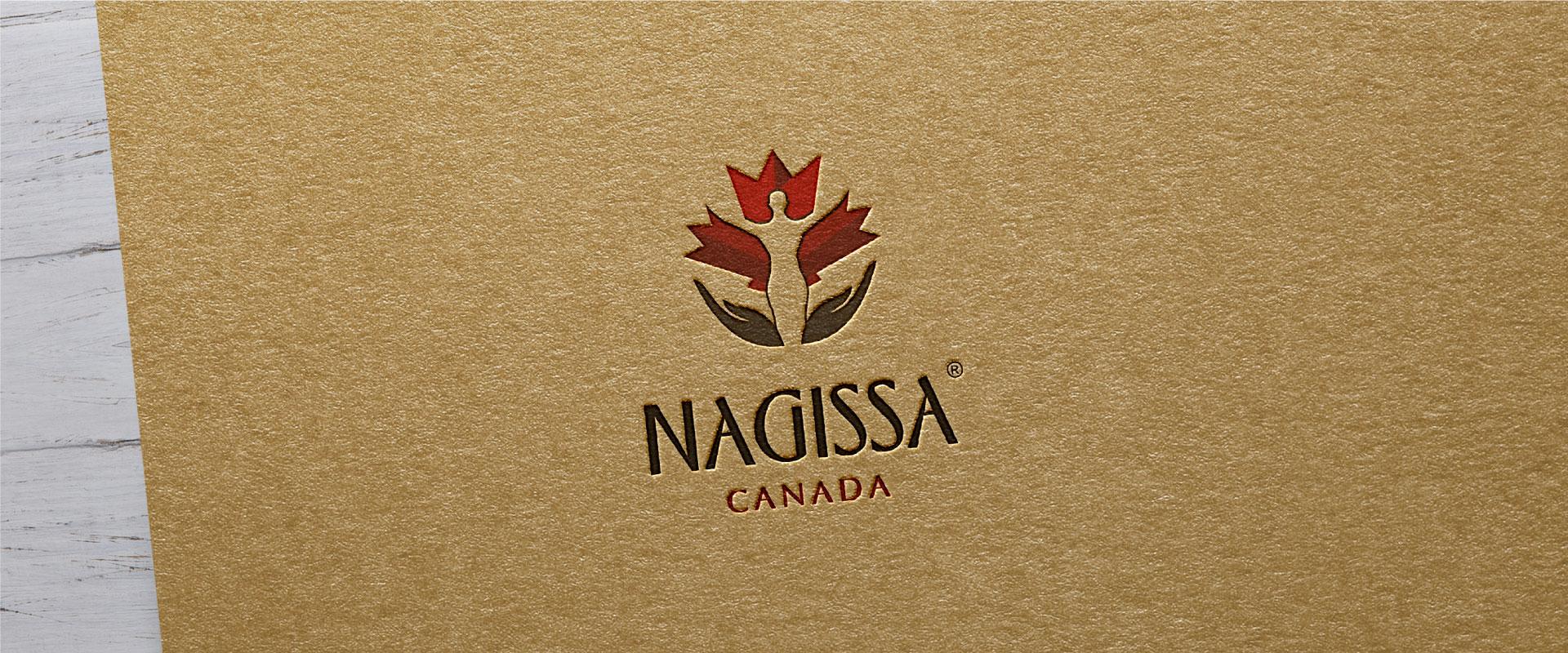 nagissa-canada-brand-logo-design-by-mapleweb-vancouver-canada-logo-on-paper-card-mock