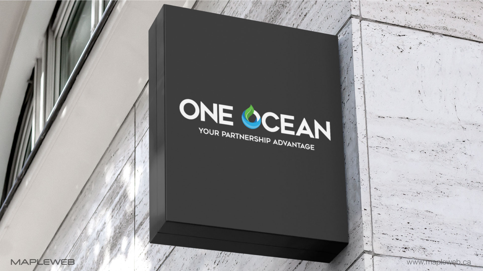 one-ocean-brand-logo-design-by-mapleweb-vancouver-canada-outside-signage-mock-mock