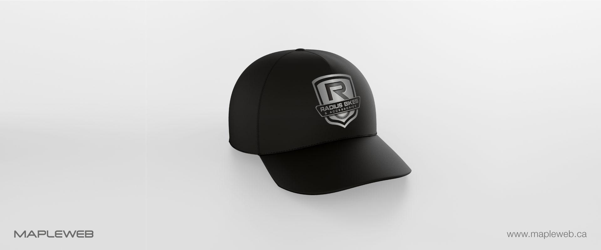 radius-bikes-brand-logo-design-by-mapleweb-vancouver-canada-cap-mock