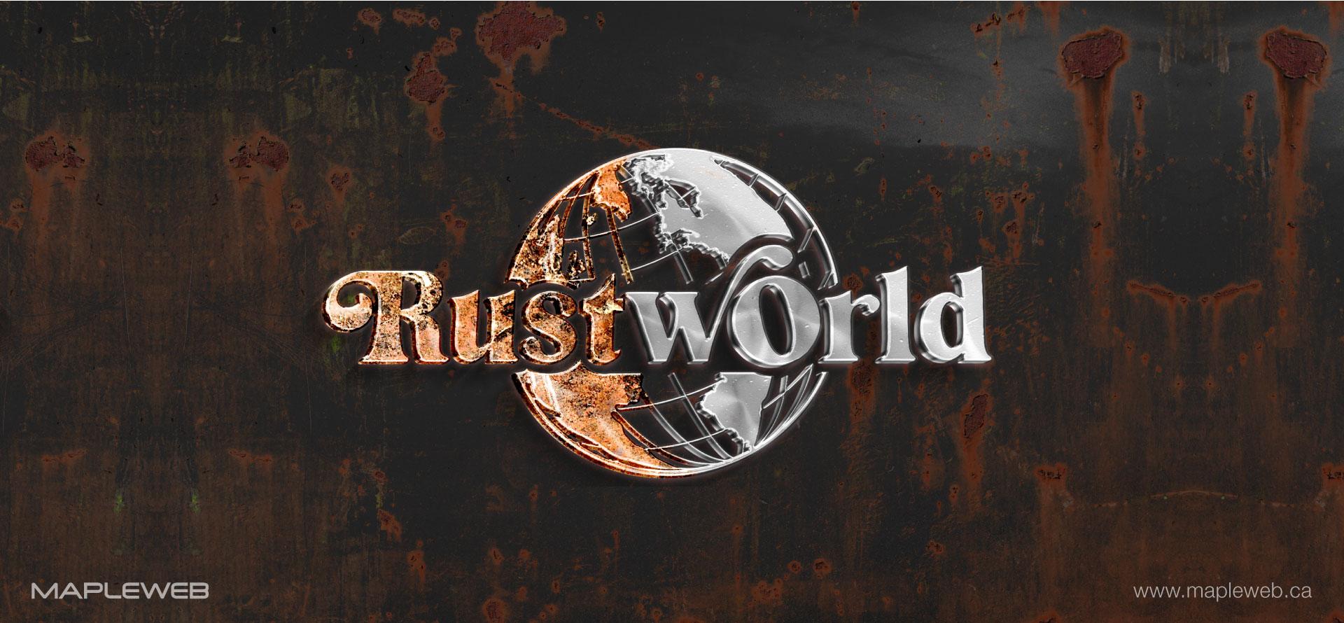 rust-world-brand-logo-design-by-mapleweb-vancouver-canada-brown-rust-mocks