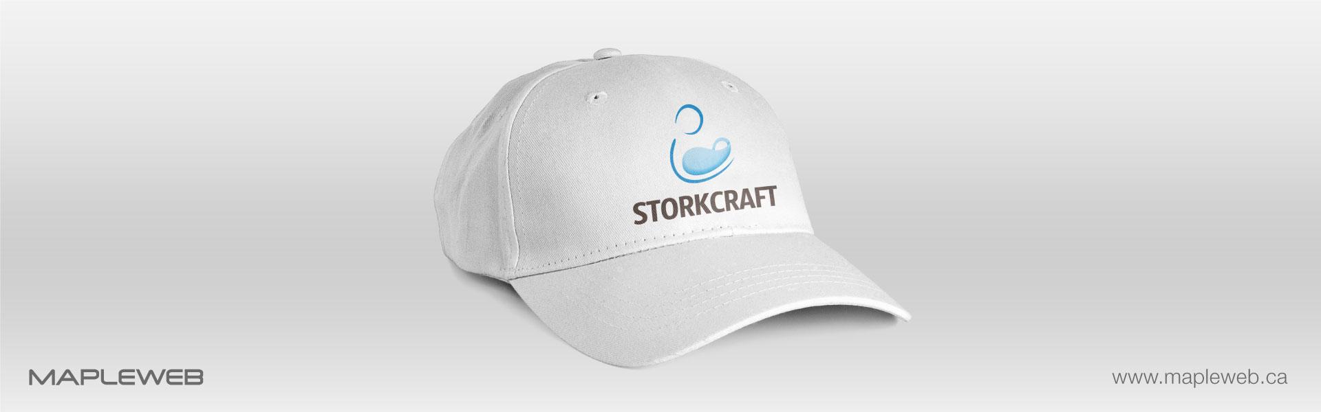 storkcraft-brand-logo-design-by-mapleweb-vancouver-canada-white-cap-mock