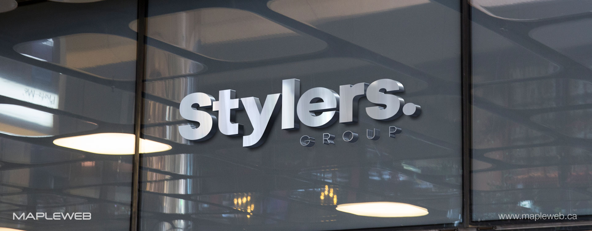 stylers-group-brand-logo-design-by-mapleweb-vancouver-canada-3D-sign-mock