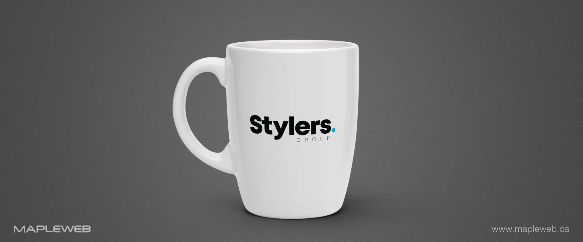 stylers-group-brand-logo-design-by-mapleweb-vancouver-canada-silver-water-bottle-mock