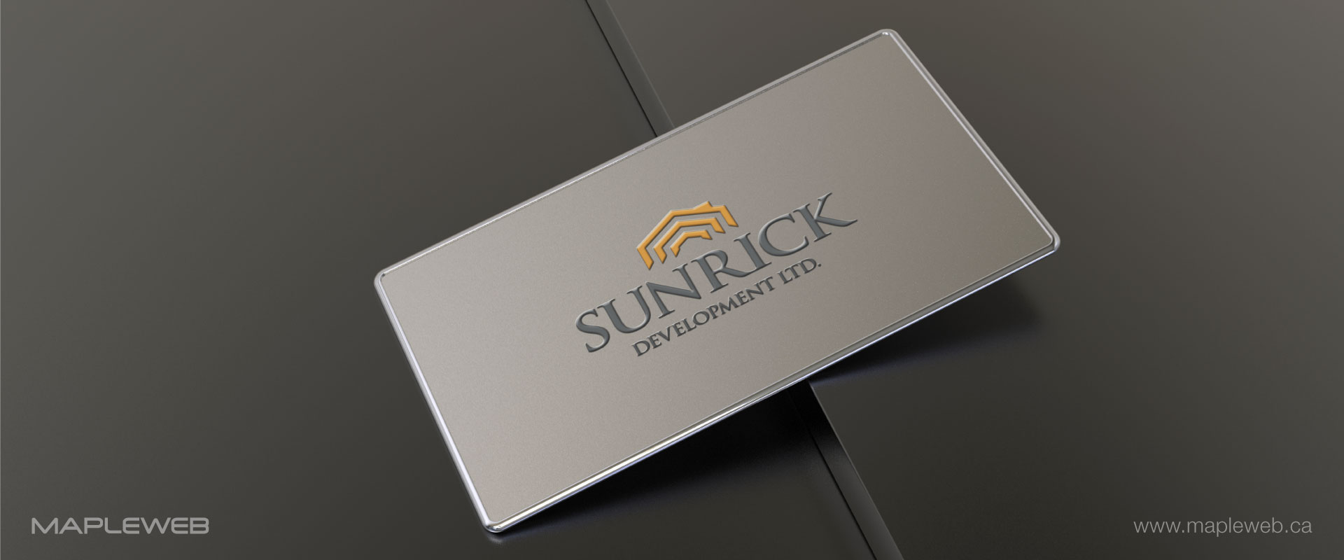 sunrick-development-ltd-brand-logo-design-by-mapleweb-vancouver-canada-business-card-mock