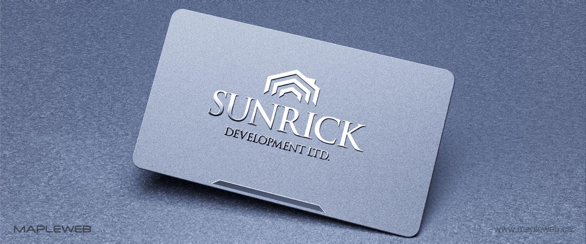 sunrick-development-ltd-brand-logo-design-by-mapleweb-vancouver-canada-business-card-noisy-mock